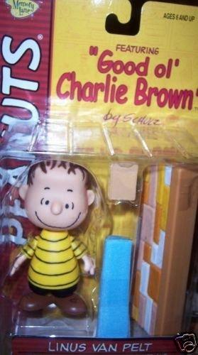 Peanuts Linus Van Pelt Figure Book Blanket Wall NEW