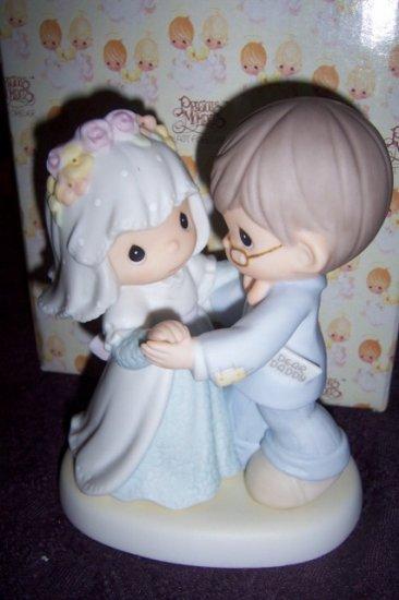 Precious Moments Daddy's Little Girl Wedding Figurine