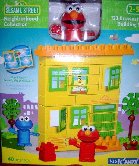 Knex Elmo Brownstone Building Set NEW Sesame Street NEW