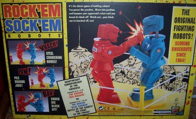 The Original Rock'em Sock'em Fighting Robots NEW