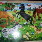 Melissa & Doug Wooden Horses Puzzle 48 Pieces NEW