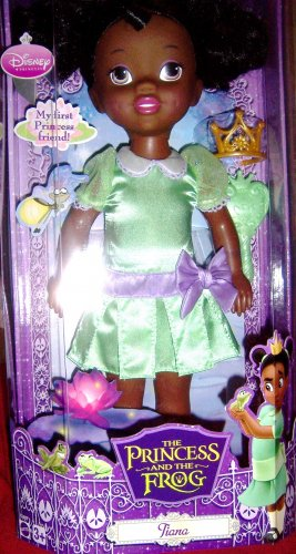 Princess & Frog Tiana Toddler 14 Inch Doll