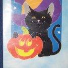 Cat N' Jack Halloween Nylon Applique Flag