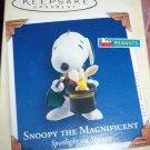Peanuts Snoopy the Magnificent Hallmark Ornament 2005