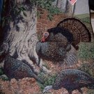 Turkey Tapestry Wall Hanging New