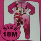 Minnie Mouse Infant Girl Blanket Sleeper SZ 18 Months