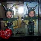 Lucy Ricardo & Ethel Mertz Envious Kelly Barbie Dolls