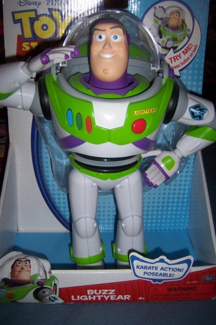 Toy Story Space Ranger Buzz Lightyear Poseable Karate Action Figure