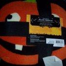 Halloween Jack O Lantern Ghost Spider Throw & Pillow Set