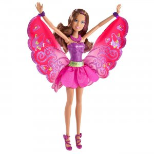 Barbie Fashion Fairy Friend A Fairy Secret Dark Hair Doll
