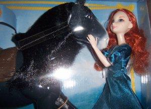Disney Pixar Brave Merida & Angus the Horse Doll Set