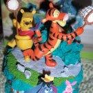 Disney Home Winnie the Pooh Tigger Eeyore Musical Figurine