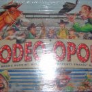 Rodeopoly Bronc Buckin Bull Ridin Property Tradin Game
