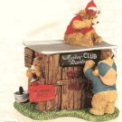 Harley Davidson Little Cruisers Harley Clubhouse Collector Figurine