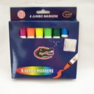 NIP UF UNIVERSITY OF FLORIDA GATORS JUMBO MARKERS 8 CT.