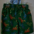 NWT BOYS SWIM TRUNKS W/ DINOSAURS & MAGIC PRINT SIZE 2T