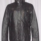 BRAND NEW Black Toronto Leather Jacket (XL) F730