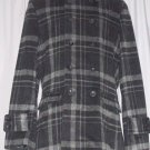 BRAND NEW Plaid Rome Car Coat (M) H917