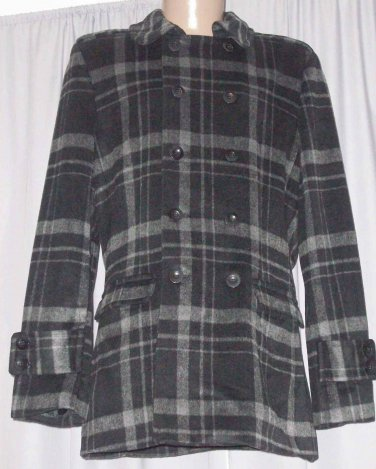 BRAND NEW Plaid Rome Car Coat (XL) H917