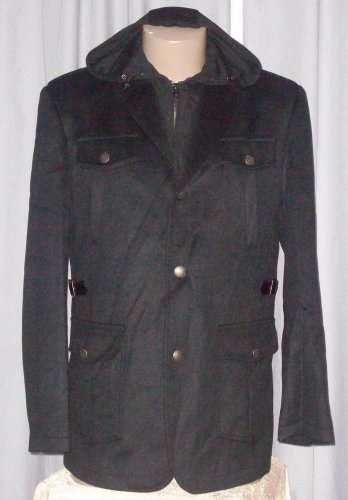 BRAND NEW Black Cambridge Jacket (L) H925