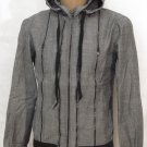 BRAND NEW Gray Carapace Linea Hooded Jacket (L) H954