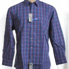 BRAND NEW Blue/Violet Kenneth Cole Reaction Shirt 17.0 #0830