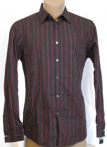 BRAND NEW International Concepts Red L/S Shirt (L) #0833