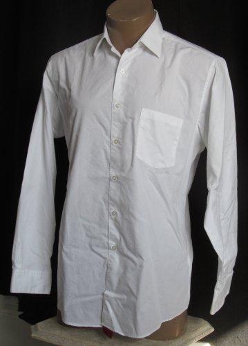 BRAND NEW White Alfani L/S Shirt 16.5 34/35 #1234