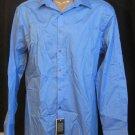 BRAND NEW Geoffrey Beene Blue L/S Shirt 17.5 34/35 #1243