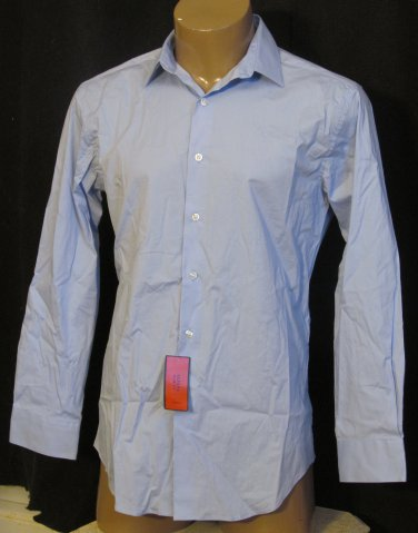 BRAND NEW Alfani Blue L/S Shirt 15.5 32/33 #1246