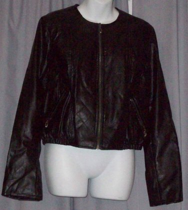 BRAND NEW Ladies Black Motorcross Jacket (L) #6259