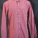 BRAND NEW Tommy Hilfiger Red Plaid L/S Shirt (XL) #0816