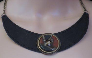 BRAND NEW Black Handmade Brinza Choker #0578