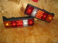 89-93 MERCEDES BENZ 190E 190D TAIL LIGHT TAILIGHT L&R