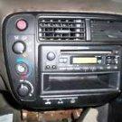 99-00 HONDA CIVIC A/C RADIO DASH BEZEL SURROUND L@@K
