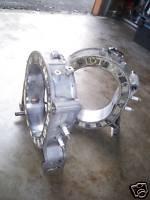 83-86 MAZDA RX7 ENGINE  FILLER NECK PLATE