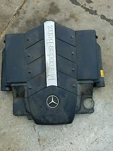 00-06 MERCEDES W220 S500 S430 AIR INTAKE FILTER CLEANER BOX ENGINE COVER 102615