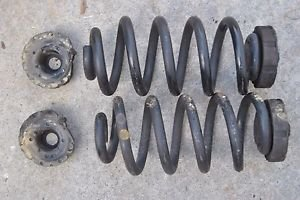 02 09 Audi A4 3.2L (04-09 S4) (07-08 RS4) Rear Coil Spring Set