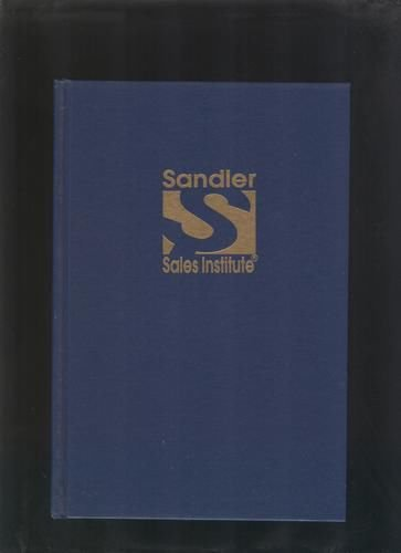 DAVID H SANDLER 7 STEP FORMULA FOR SALES SUCCESS MANUAL Presidents Club Training