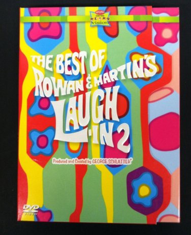 BEST Of ROWAN & MARTIN'S LAUGH-IN - VOL 2 - (3 DVD) - 60s TV COMEDY AT ITS BEST