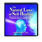 THE NATURAL LAWS OF SELF-HEALING 9 CD LIFE CHANGING SEMINAR GERALD EPSTEIN, M.D.