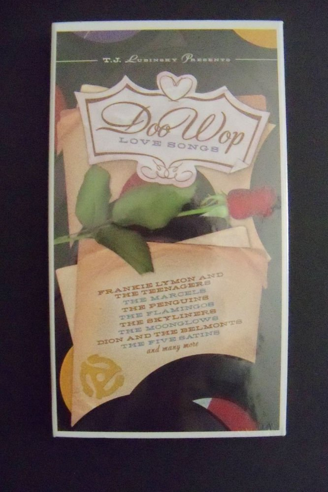 DOO WOP LOVE SONGS - 4 CD BOX SET - AS SEEN ON PBS TELEVISION - 85 SONGS - NEW!!