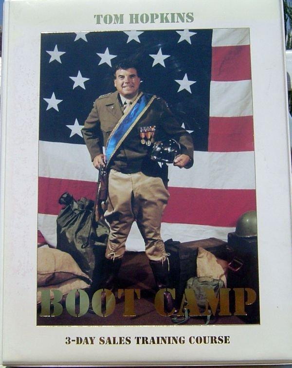 TOM HOPKINS BOOT CAMP 3-DAY SALES MASTERY SEMINAR  ORIG $225 - OUT OF PRINT RARE