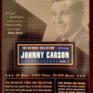 Johnny Carson The Ultimate Collection Best of the Tonight Show 3 DVDS - LIKE NEW