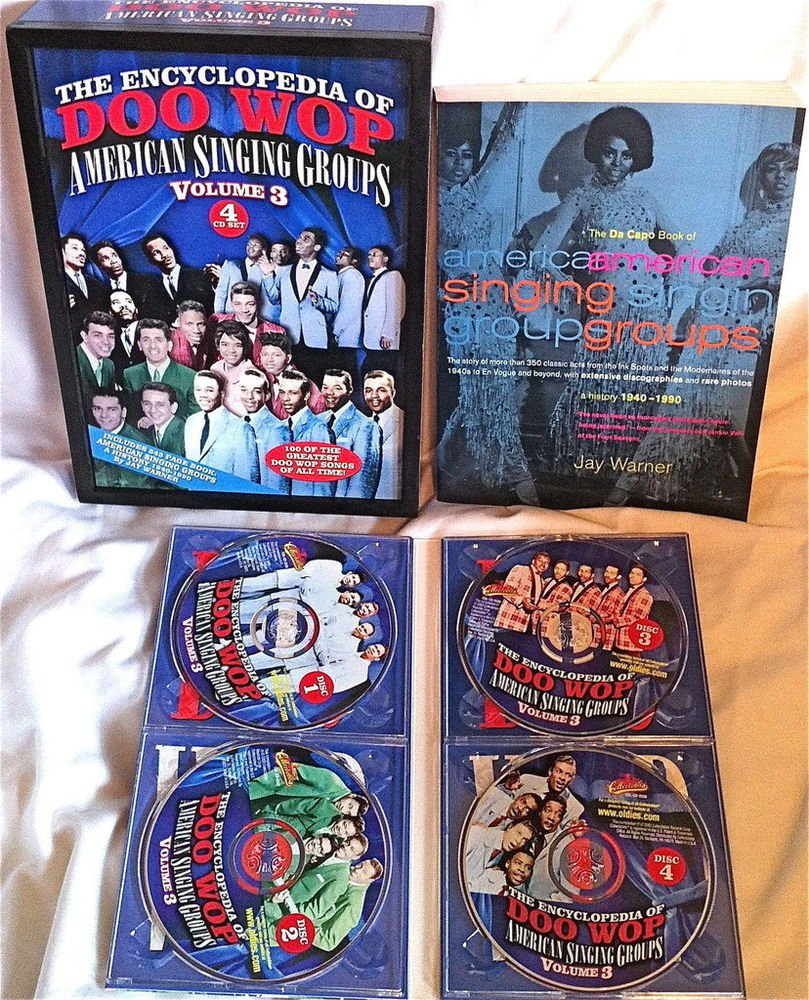 THE ENCYCLOPEDIA OF DOO WOP - VOLUME3 - 4 CD BOX SET - MANY ARTISTS  RARE & OOP