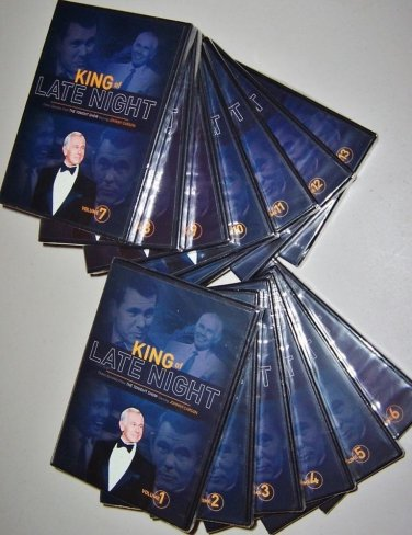 JOHNNY CARSON - TONIGHT SHOW THE KING OF LATE NIGHT 13 DVD COLLECTION  BRAND NEW