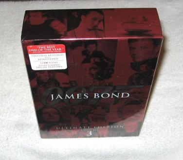 James Bond ULTIMATE Edition - VOLUME 3 - 10-Disc Set - BRAND NEW and SEALED!