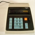 1970s Unitrex 1200 Desktop Vintage Calculator Easy2 Read Orange Panaplex Display
