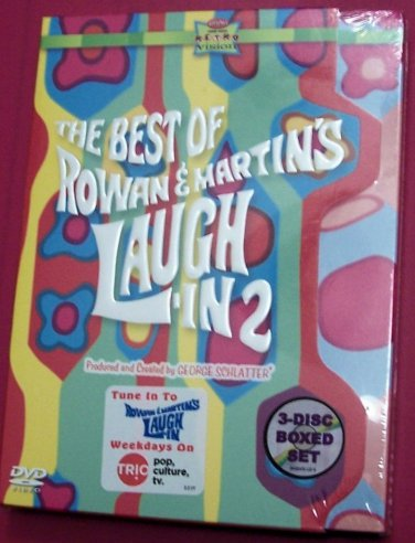 BEST OF ROWAN & MARTIN'S LAUGH-IN - Vol 2  (3 DVD) 60'S COMEDY AT IT'S BEST- NEW