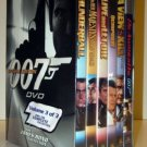 JAMES BOND SPECIAL EDITION - 6 DVD GIFT SET - VOLUME 3